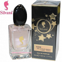 "308-W ""SILVANA"" DELICIOUS GREEN FLORAL-WOODY"